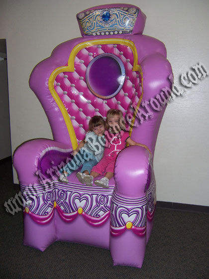 Giant Princess Throne Chair Rental Fort Collins, CO