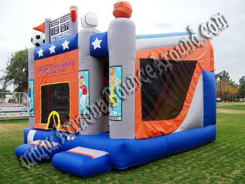 Sports Bounce House rental in Denver, Colorado Springs, Aurora, Fort Collins, CO