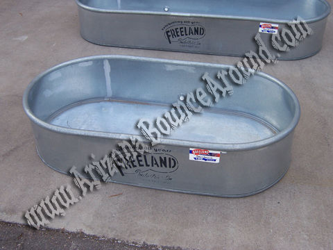 Galvanized Ice Chest Rental Colorado Springs, CO