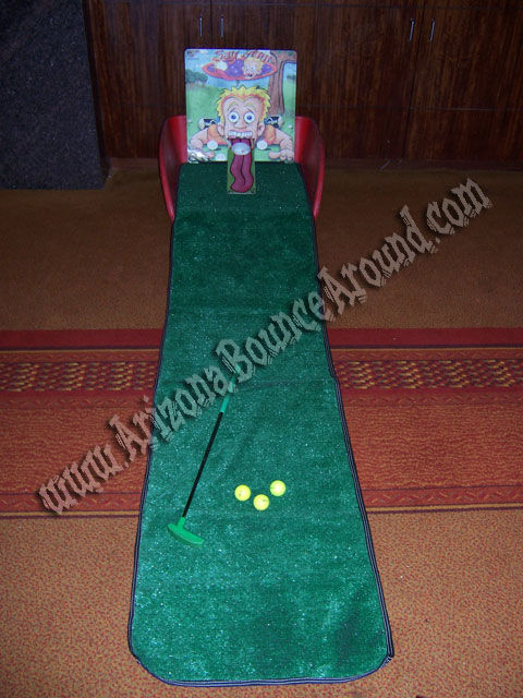 Mini Golf Carnival Game Rental Denver
