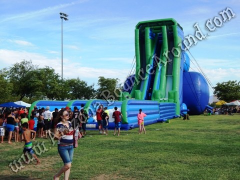 big water slides for festivals in California