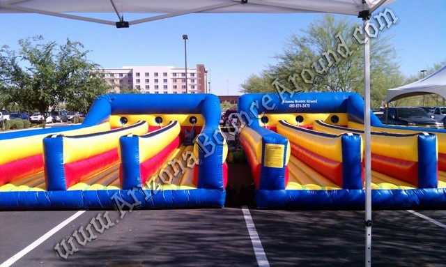 6 lane Bungee run rental Denver Colorado