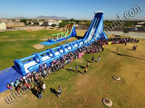 Gravity Play Events 42' water slide rental