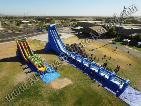 Gravity Play Events 42' water slide