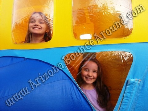 Airplate themed bounce house rentals Denver