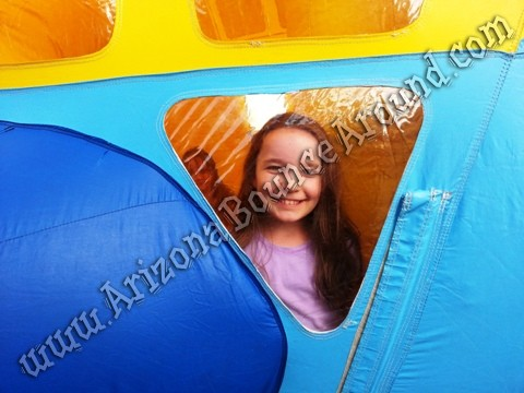 Airplate themed bounce house rentals Fort Collins