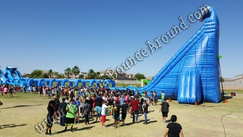 Gravity Play Events water slides for rent