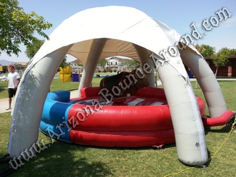 Colorado Mechanical Bull with tent