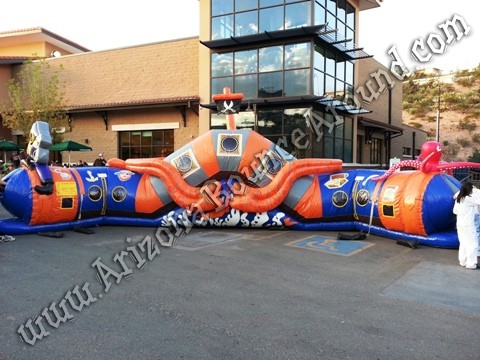 Colorado Pirate themed inflatables for rent