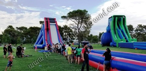 Best place to rent big water slide for events in Colorado