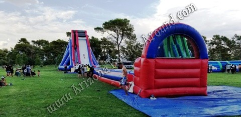 Best place to rent big water slide for events in New Mexico