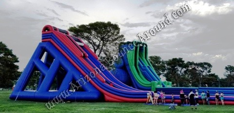 Best place to rent big water slide for events in Phoenix Arizona