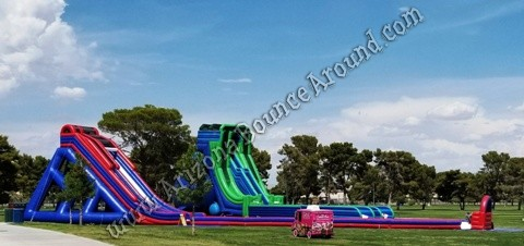 Best place to rent big water slide for events