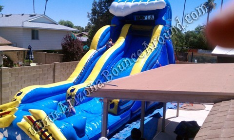 Big water slide rental Denver