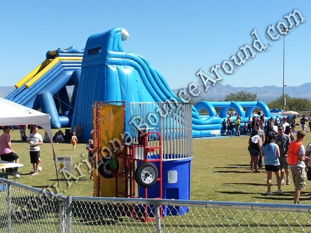 Big water slide rentals for events Colorado