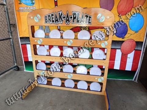 Break a plate carnival game rentals Denver