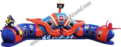 Pirate themed inflatable rentals in CO