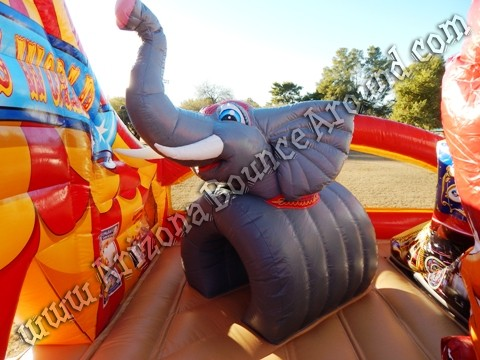 Carnival themed inflatable rentals for parties and events in Denver, Colorado