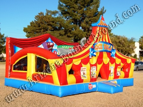 Carnival themed inflatable rentals in Colorado Springs