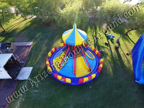 Carnival themed inflatables for rent