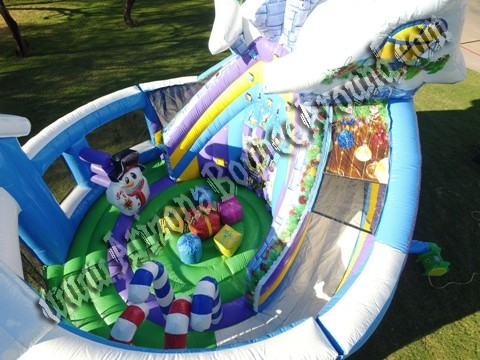 Christmas Themed Bounce House Rental Denver Colorado