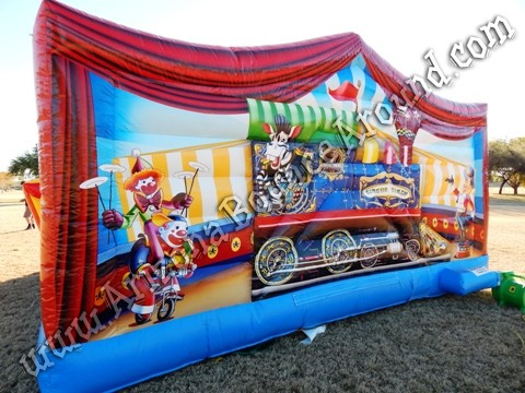 Circus themed inflatable rentals in Colorado