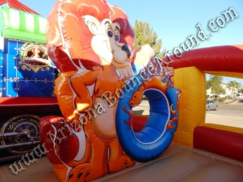 Circus themed inflatable rentals in Denver