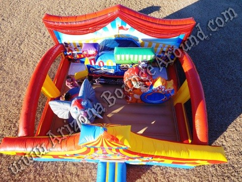 Circus themed inflatable rentals in Fort Collins