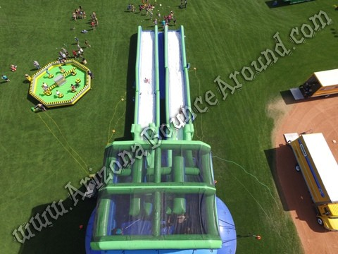 Inflatable Meltdown game rental Denver CO