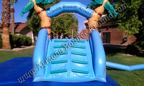 Dual lane water slide rental for small kids Colorado Springs Colorado