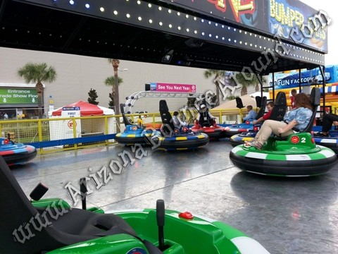Electric bumper car rentals in Colorado