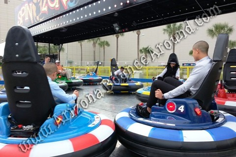 Electric bumper car rentals in Denver Colorado