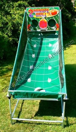 Electronic Football throwing games for rent in Colorado