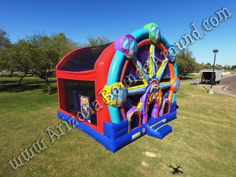 Ferris Wheel Bounce House rental Denver CO