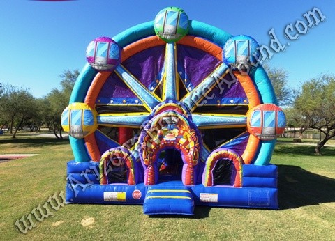 carnival themed bounce house rentals CO