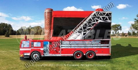 Fire truck themed Party Ideas in Denver Colorado