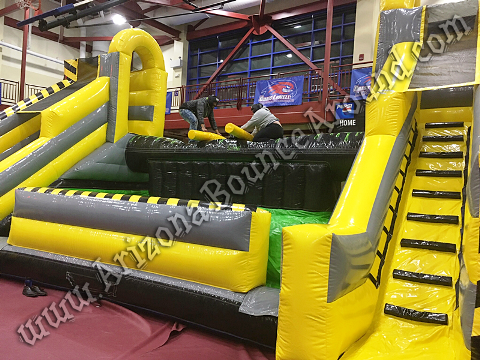 Giant Inflatable Jousting Game Rental Denver Colorado