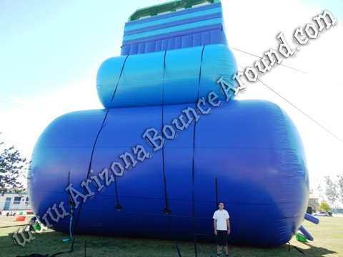 Giant inflatable water slides for parties and events in Colorado