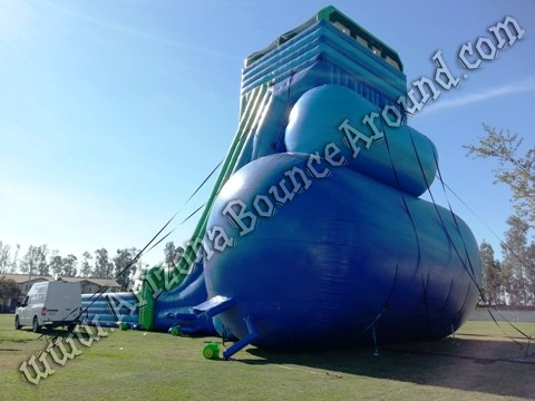 Giant inflatable water slides for parties and events in California