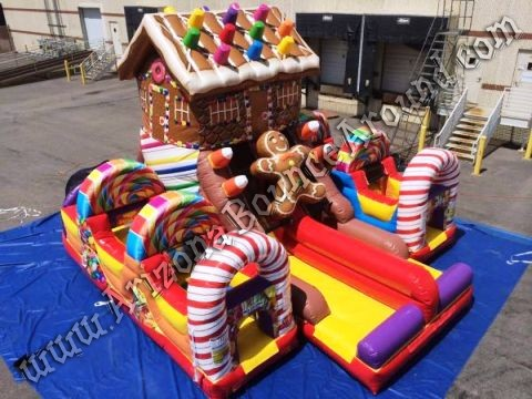 Gingerbread House Inflatables for rent in Colorado