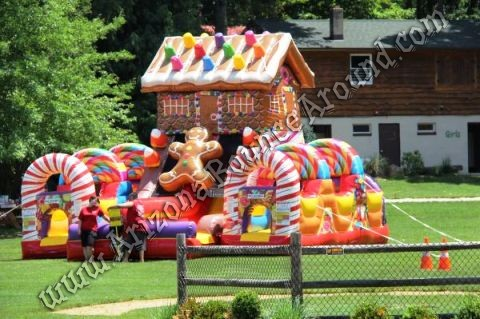 Gingerbread House Obstacle Course Rental Denver Colorado