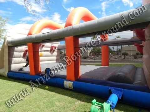 Inflatable Basketball Court Rental