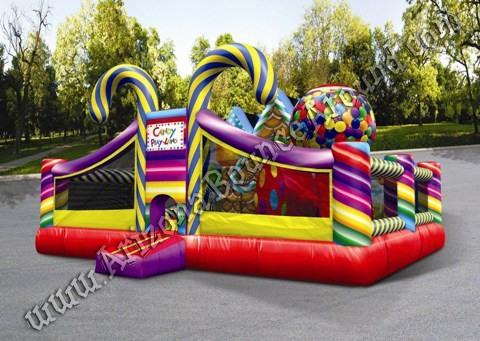 Inflatable Candy Land Playland Rental Denver