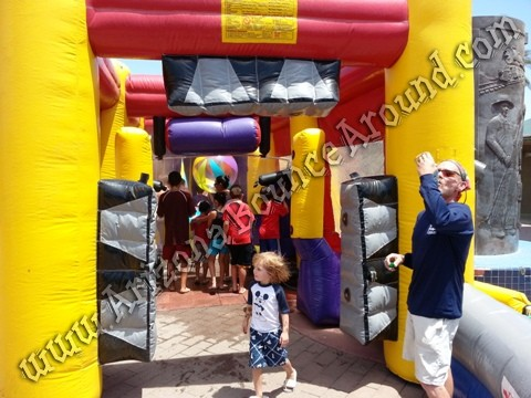 Inflatable Car Wash misting tent rental CO