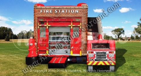 Inflatable Fire Station Rental Denver Colorado