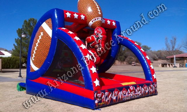 Inflatable Football Throw Game Rental CO