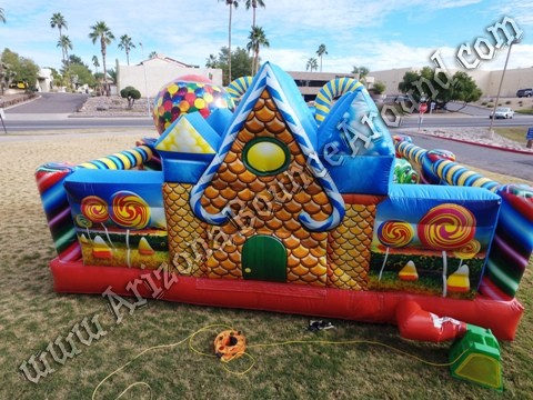 Inflatable Gingerbread House Rentals in Denver Colorado