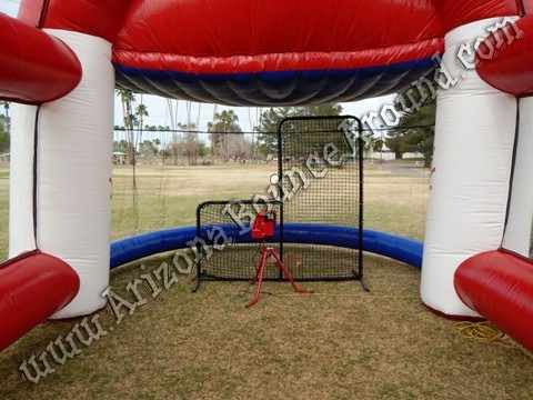 Inflatable batting cage rental Thornton, Colorado