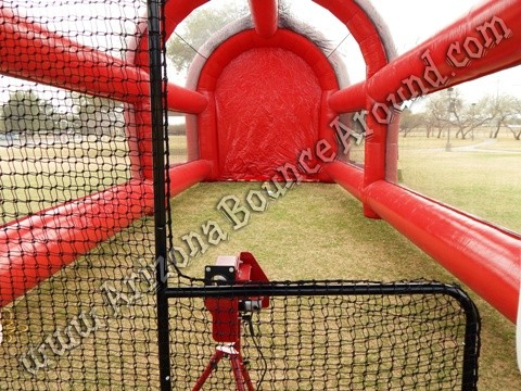 Inflatable batting cage rental Denver, Colorado