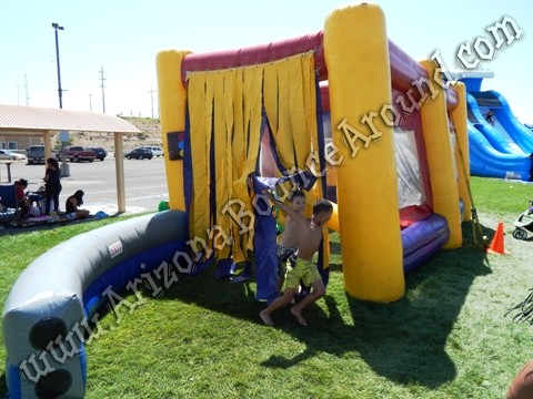 Inflatable car wash game rental Denver